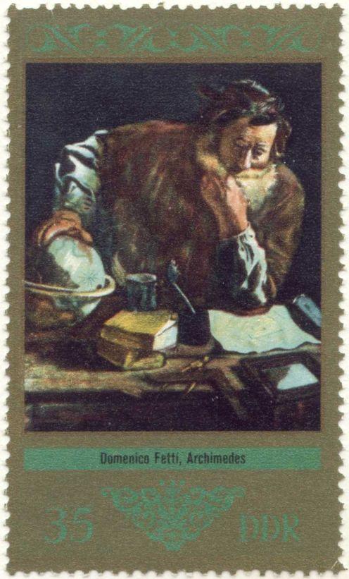 Demokratik Almanya Cumhuriyeti 13 Kasım 1973, Domenico Fetti çizimiyle eski ustaların resimleri serisinden