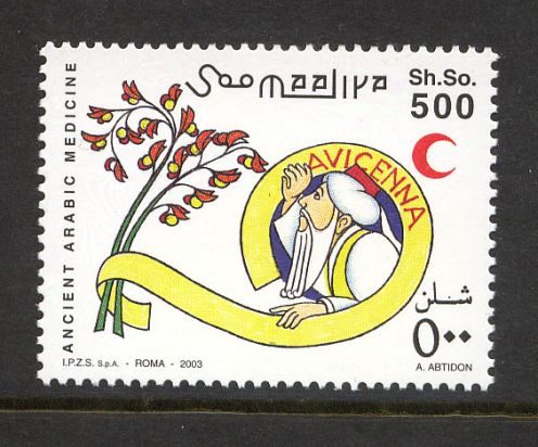 Somali 2003 İbni Sina Pulu