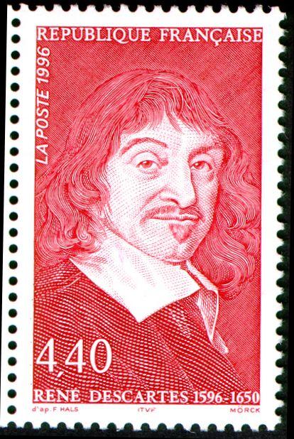 Dekart'ın doğumunun 400.yılında 1996'da Fransada