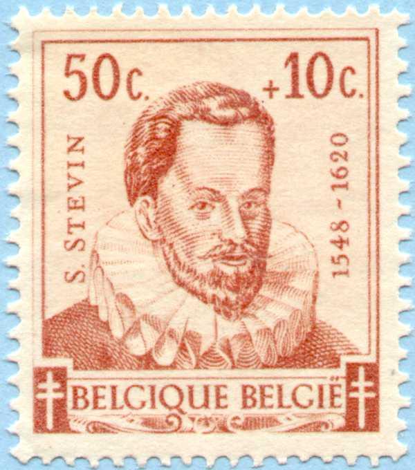 15 Mayıs 1942 Belçika, tüberkiloz karşıtı bir kampanyada ünlü bilimadamları serisinden